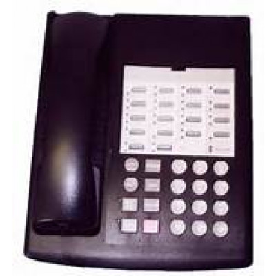 euro 18 telephone black type 1 refurbished phones systems hi line supply. Black Bedroom Furniture Sets. Home Design Ideas