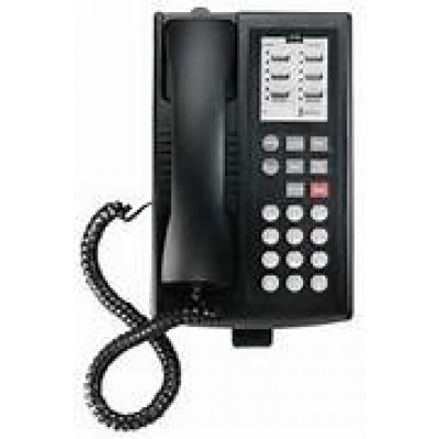 euro 6 telephone black type 1 refurbished partner telephones phones systems hi line supply. Black Bedroom Furniture Sets. Home Design Ideas