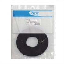 ICC Bulk Velcro Cable Tie, 75ft, Black