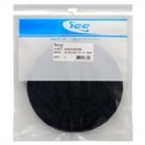 ICACSVB12BK, ICC Velcro Cable Tie, 12', 100pk, Black
