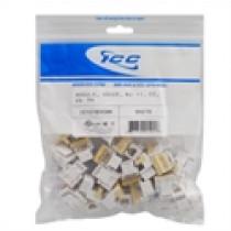 ICC IC1076VCWH MODULE, VOICE, RJ-11/14/25, EZ, 25 PK, White