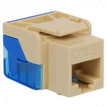 ICC IC1078E5IV CAT 5e, EZ, Modular Connector, Ivory