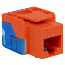 ICC IC1078E5OR CAT 5e, EZ, Modular Connector, Orange