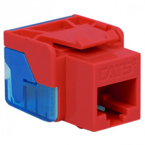ICC IC1078E5RD CAT 5e, EZ, Modular Connector, Red