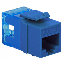 ICC IC1078F5BL CAT 5e, HD, Modular Connector, Blue