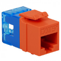 ICC IC1078F5OR CAT 5e, HD, Modular Connector, Orange