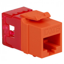 ICC IC1078F6OR CAT6 HD Modular Connector, Orange