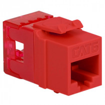 ICC IC1078F6RD CAT6 HD Modular Connector, Red