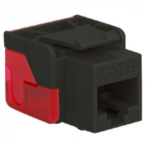 ICC IC1078L6BK CAT 6 EZ Modular Connector, Black