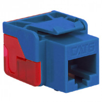 ICC IC1078L6BL CAT 6 EZ Modular Connector, Blue
