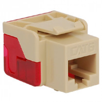ICC IC1078L6IV CAT 6 EZ Modular Connector, Ivory