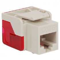 ICC IC1078L6WH CAT 6 EZ Modular Connector, White