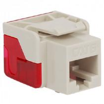 ICC IC1078L6WH CAT 6 EZ Modular Connector, White