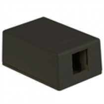 ICC Surface Mount Box, 1-Port, Black