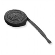 ICC Velcro Cable Tie, 12',10pk, Black