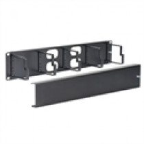 ICC ICCMSCMPK2 Panel, Cable Mgmt Metal Ring & Cover, 2U