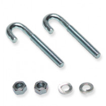 ICC ICCMSLJB01 Runway Kit, J-Bolt, 2 EA