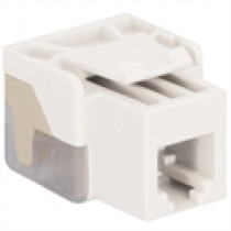 ICC IC1076V0WH VOICE, RJ-11/14/25, EZ Modular Connector, White