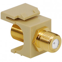 ICC IC107B5GIV F-TYPE, GOLD PLATED, 2GHz, Ivory