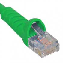 ICC ICPCSJ05GN Patch Cord, Cat5e Molded Boot 5' Green