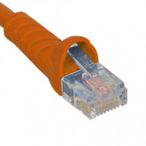 ICC ICPCSJ01OR Patch Cord, Cat5e Molded Boot 1' Orange