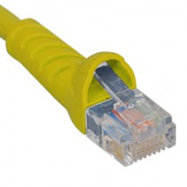 ICC ICPCSJ01YL Patch Cord, Cat5e Molded Boot 1' Yellow