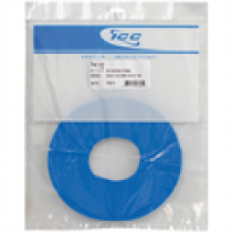 ICC Bulk Velcro Cable Tie, 75ft, Blue