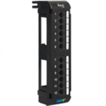 ICC ICMPP12V5E CAT5e Vertical Patch Panel, 12-Port
