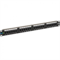 ICC ICMPP0245E CAT5e 24-Port Patch Panel, 1 RMS