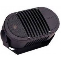 "All-Weather Loudspeaker 8-ohm, Bogen A6BLK 2-Way 6"", Black"
