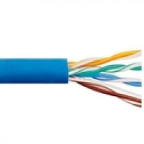 CAT6 PVC Blue 500 MHz 4 Pair Wire ICC