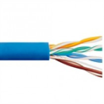 CAT6 PLENUM Blue 500 MHz 4 Pair Wire ICC