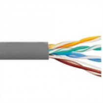CAT6 PVC Grey 500 MHz 4 Pair Wire ICC