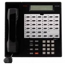 MLS 34D Telephone Black  Refurbished