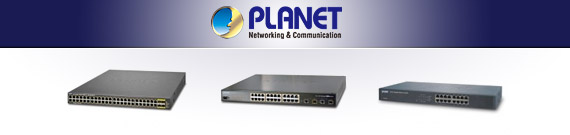 Planet Networking and Communication Switches